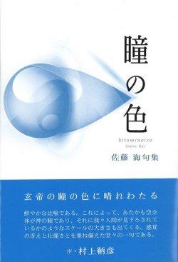 画像1: 佐藤海句集『瞳の色』(ひとみのいろ)